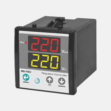 Regülatör mikroişlemci voltmetre